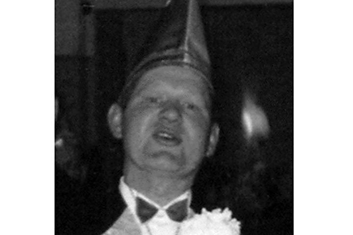 1963 - Prinz Franz I. Brinkmann mit Mundschenk Werner Lettmann