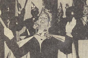 1968 Prinz Franz II. Berenbrinker mit Mundschenk Paul Brinkmann