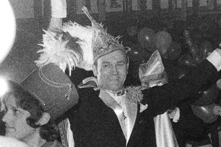 1972 Prinz August I. Fahle mit Mundschenk Berni Brinkmann