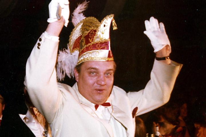 1977 Prinz Berni III. Haverkemper mit Mundschenk Werner Lettmann