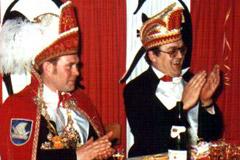 1978 Prinz Ferdi I. Richtermeier mit Mundschenk Berni Fust