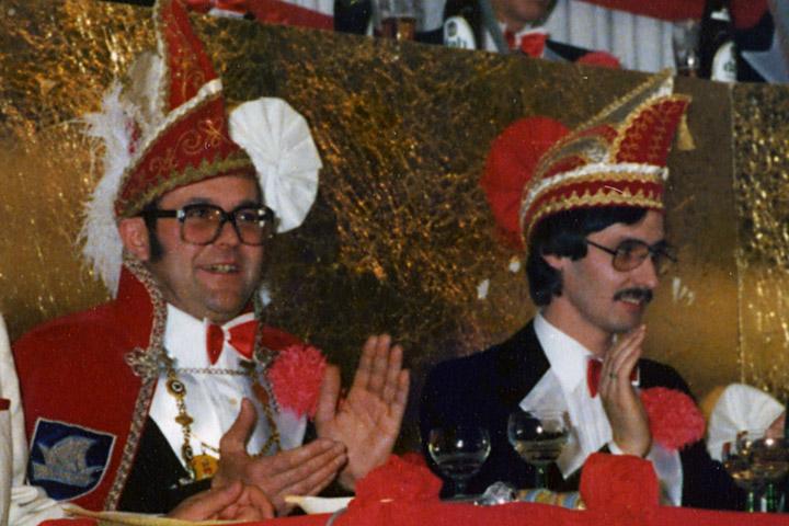 1979 Prinz Kurt II. Rogner mit Mundschenk Erich Fahrin