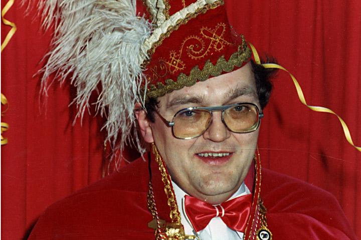 1981 Prinz Berni IV. Fust mit Mundschenk Ferdi Richtermeier