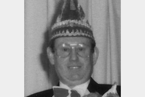 1987 Prinz Dieter I. Giebel mit Mundschenk Helmut Welzel