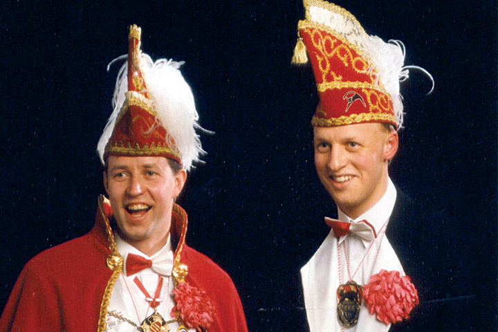 1992 Prinz Heinz I. Stille mit Mundschenk Bernd Lütke