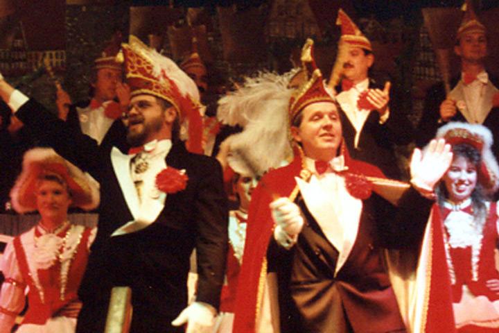 1997 Prinz Rolf Schulte mit Mundschenk Klaus Lehrke