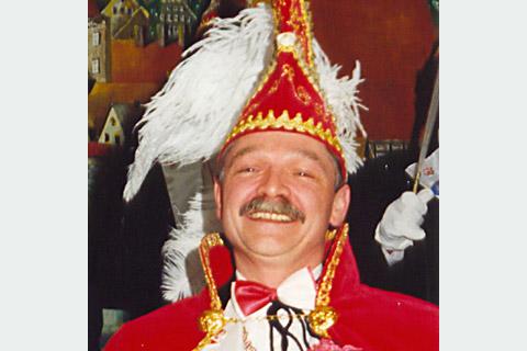 2000 Prinz Manfred I. Bohn mit Mundschenk Rolf Brinkmann