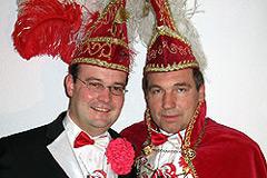 2005 - Prinz Rolf II. Kilwinski mit Mundschenk: Lars Uchtmann