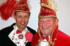 2006 - Prinz Hugo I. Richter mit Mundschenk Heinz Stille