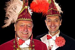 2008 - Prinz Hans-Jürgen I. Scheele mit Mundschenk Marcus Scheele