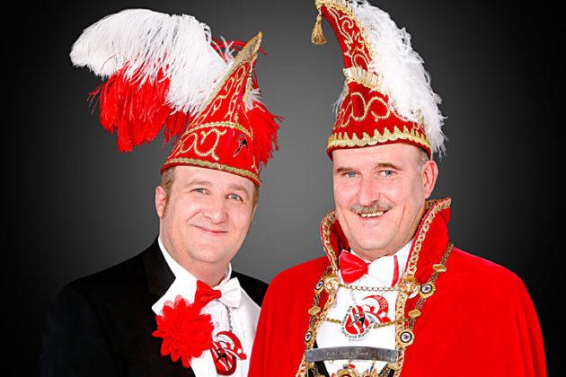 Prinz Marc I. Sembach und Mundschenk Tobias Hagemann