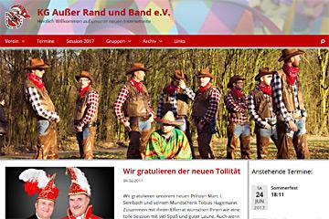 Blog-Bild: Internetseite in neuem Design online