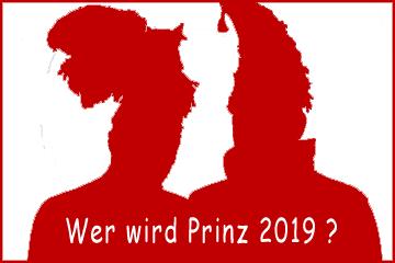 Wer wird Prinz 2019?
